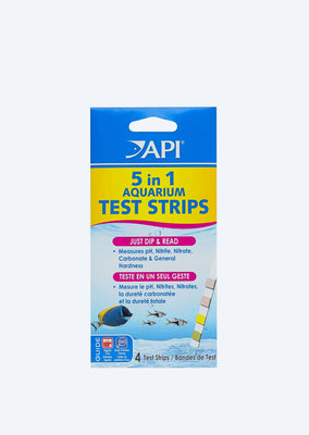 API 5-in-1 Aquarium Test Strips water from API products online in Dubai and Abu Dhabi UAE