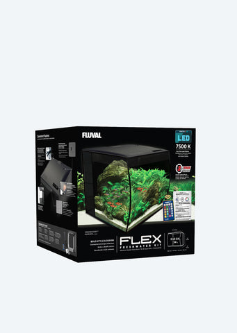 FLUVAL Flex Aquarium (Black)