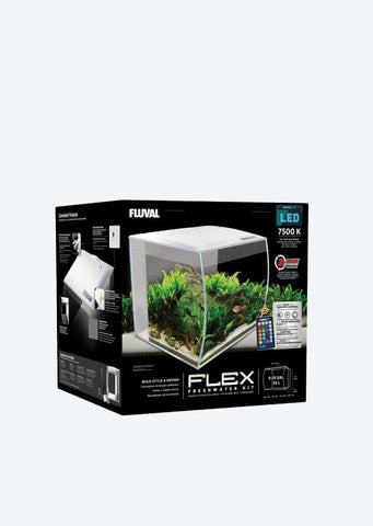 FLUVAL Flex Aquarium (White)