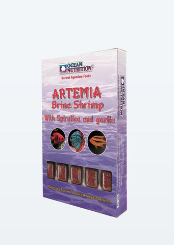 Ocean Nutrition Artemia Brine Shrimp with Spriluna and Garlic