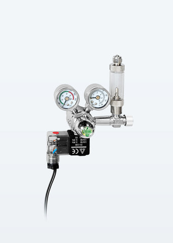ISTA CO2 Twin Gauge Regulator