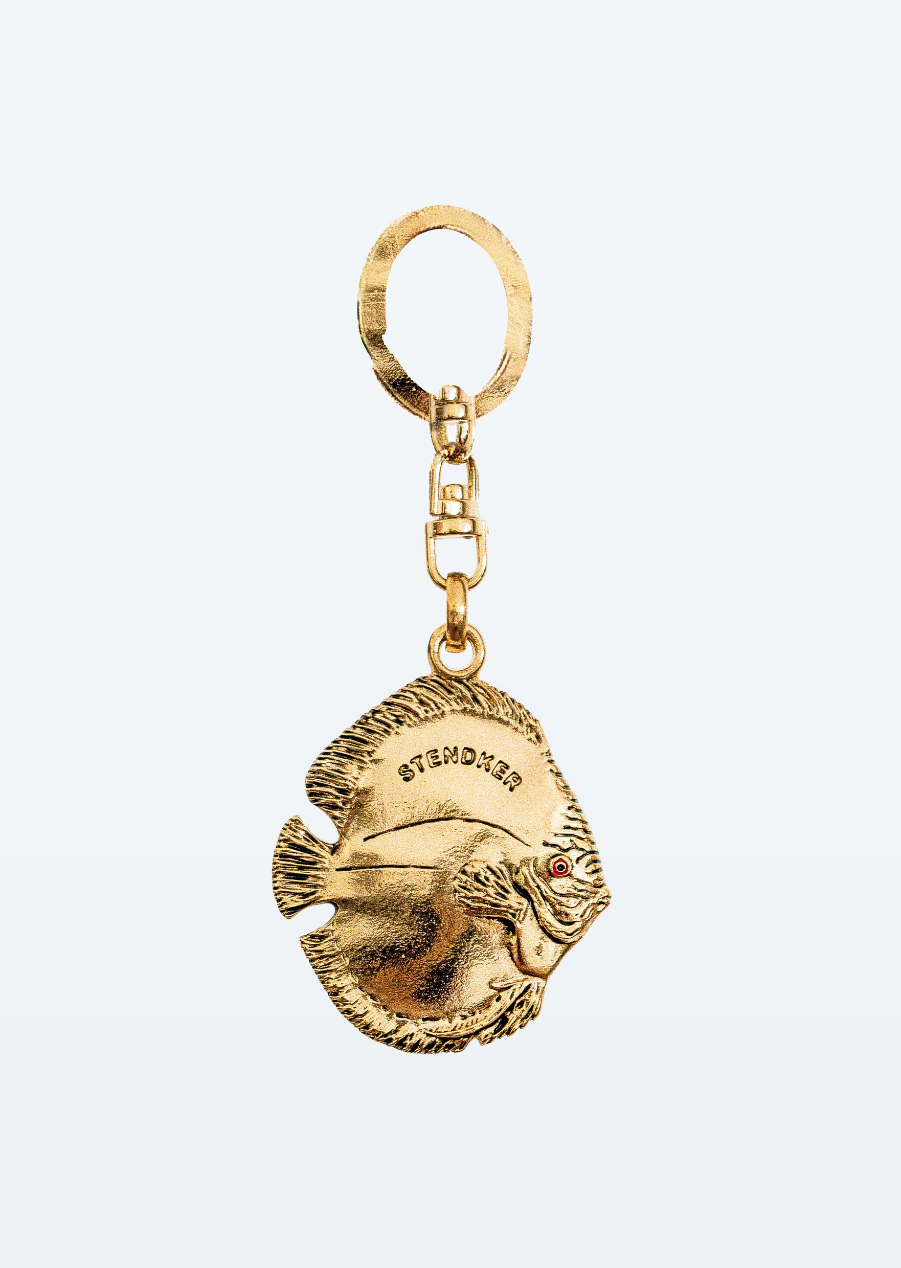 Stendker Keychain: Gold Chrome