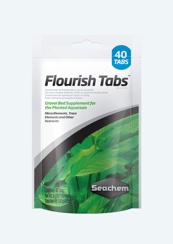 Seachem Flourish Tabs additive from Seachem products online in Dubai and Abu Dhabi UAE