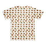 All Over Pizza Slices T-Shirt (unisex)