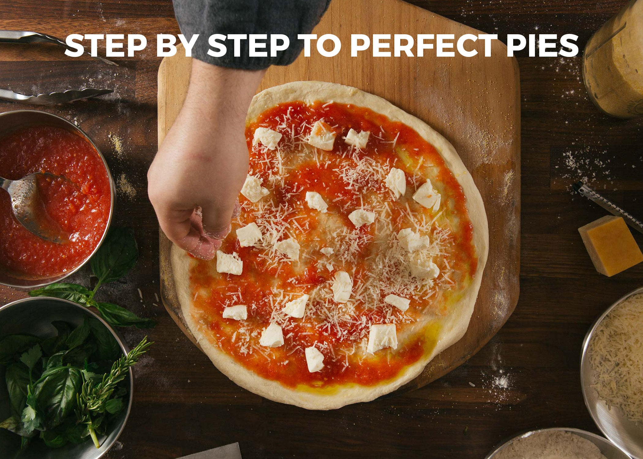 Step by step to perfect pies