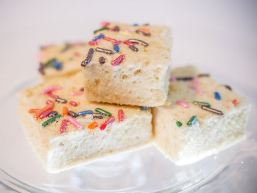 Birthday Cake Gourmet Marshmallow by Mallow & Co