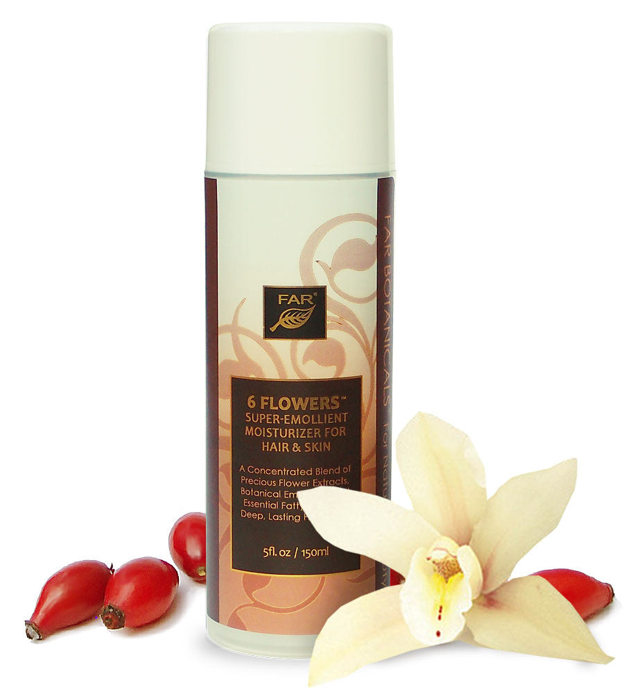 6 Flowers Super-Emollient Moisturizer for Hair & Skin