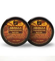 Amarula Preservation Butter - Two Jar Set - FAR Botanicals