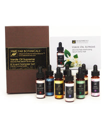 SAMPLE: Verde Oil Supreme 8 Scent Sampler Set - FAR Botanicals
