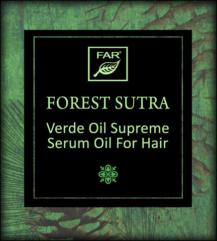Verde Oil Supreme Silicone-Free Moisturizing Serum Oil for Hair (Fragranced)
