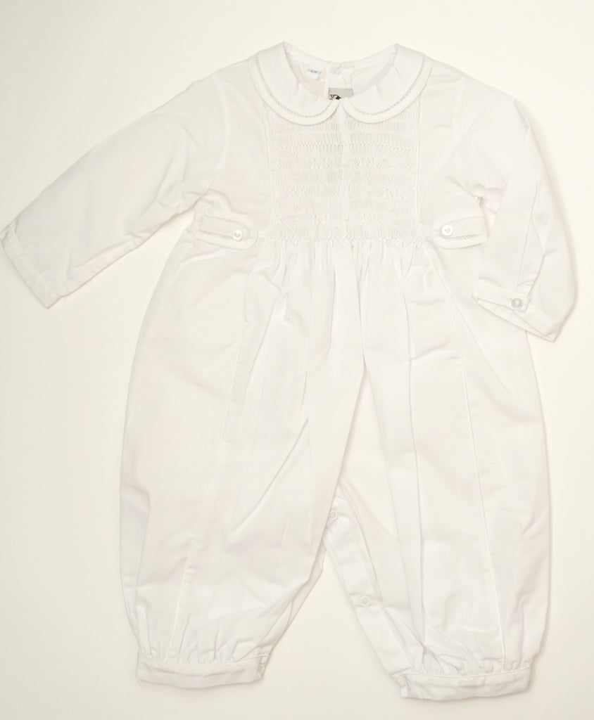 White Lace Baby Jumpsuit