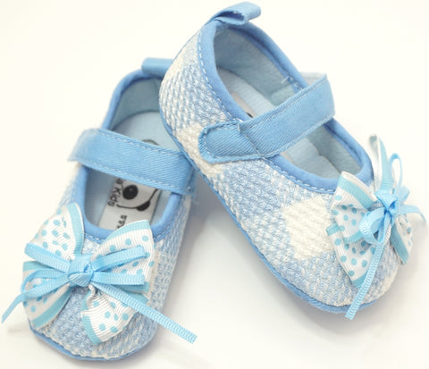 Blue Ribbon Princess Shoes