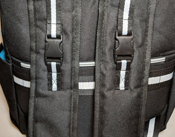 Mission Possible Backpack With USB Connector & Thermally Insulated Pouch