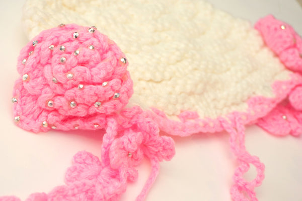 Fun Flower Wool Hat