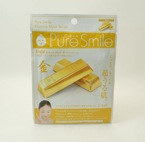Gold Pure Smile Facial Mask (5 Sheets)