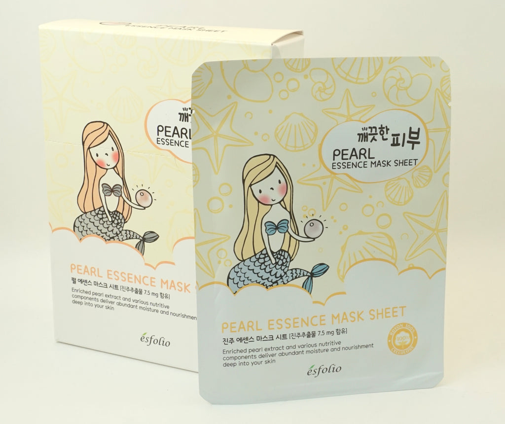 Pearl Essence Facial Mask (5 Sheets)