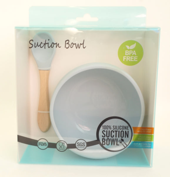 Suction Silicone Bowl