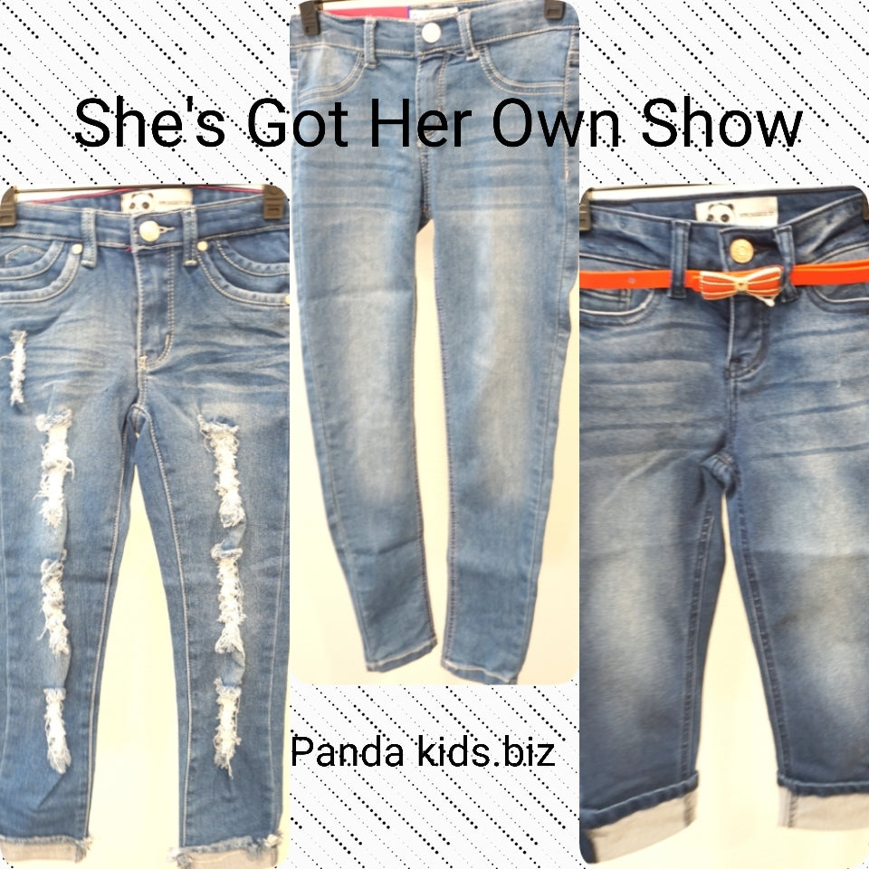She's Got Her Own Show Denim Pants