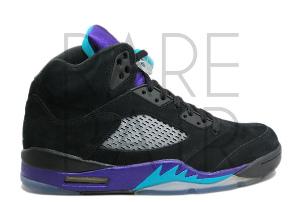 "Air Jordan 5 Retro ""Black Grape"" - Rare Pair"