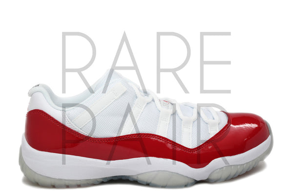 "Air Jordan 11 Retro Low BG ""2016 Cherry"" - Rare Pair"