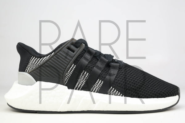 "EQT Support 93/17 ""Core Black"" - Rare Pair"