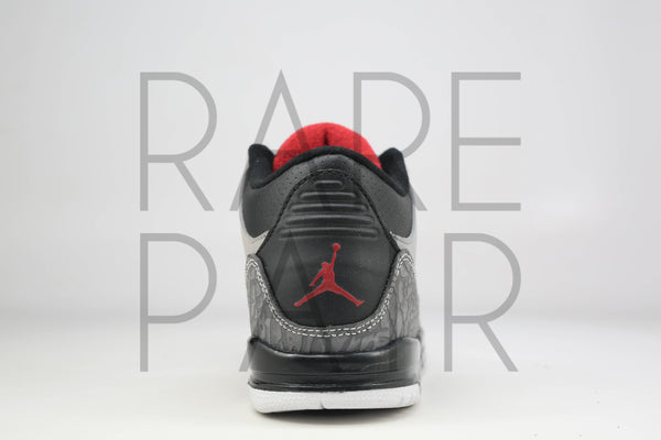 "Jordan 3 Retro (PS) ""Stealth"" - Rare Pair"