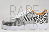 "Nike Air Force 1 PRM NYC ""Soho Laser"" - Rare Pair"