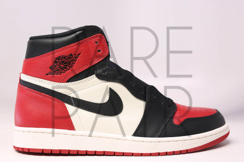 "Air 1 Retro High OG ""Bred Toe"""