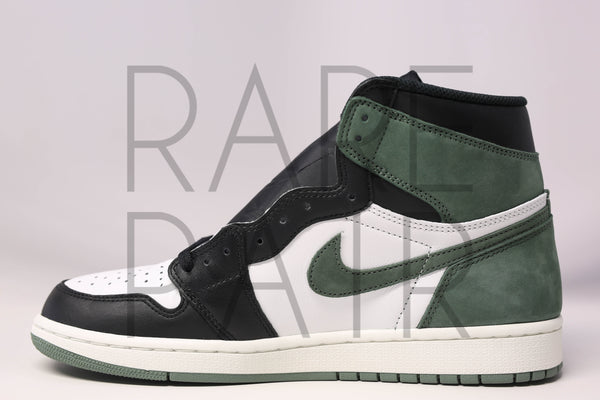 "Air Jordan 1 Retro High OG ""Best Hand In the Game : Clay Green"" - Rare Pair"