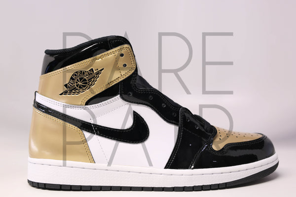 "Air 1 Retro High OG ""Gold Toe"" - Rare Pair"