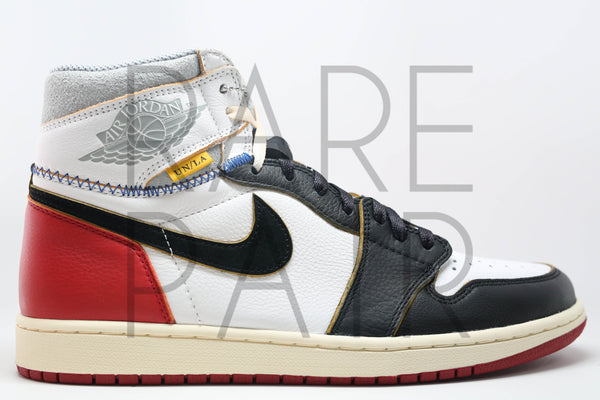 "Air Jordan 1 Retro Hi NRG / UN ""UNION LA : Black Toe"""