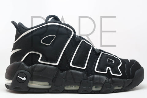 "Air More Uptempo ""2016: Black/White"" - Rare Pair"