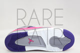 "Girls Air Jordan 4 Retro GS ""Pink Foil"" - Rare Pair"