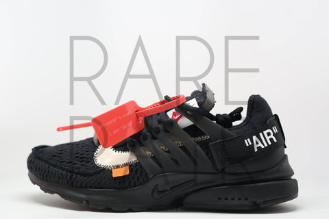 "The 10 : Nike Air Presto ""Off-White : 2018 Black"" - Rare Pair"