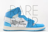 "Air Jordan 1 x Off-White NRG ""Off-White : UNC"""