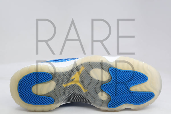 "Air Jordan 11 Retro Low (GS) ""Argon Blue"" - Rare Pair"