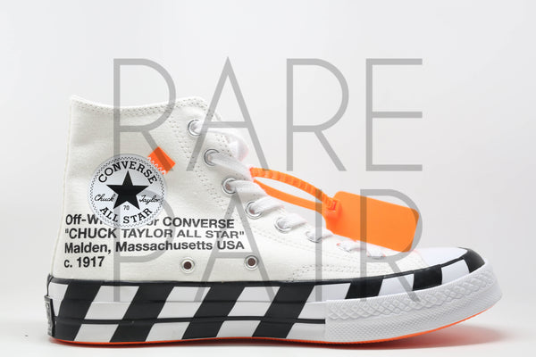 "Converse x Off-White Chuck Taylor 10970s Hi ""Off-White : Chuck Taylor 1970s"""