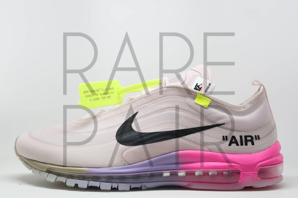 "The 10 : Nike Air Max 97 OG ""Off-White : Serena Williams"" - Rare Pair"
