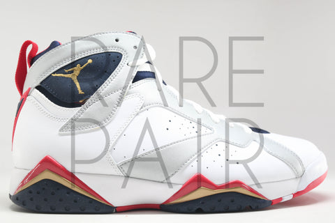 "Air Jordan 7 Retro ""2012 Olympic"" - Rare Pair"