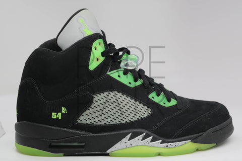 "Air Jordan 5 Retro ""Quai 54 Black"" - Rare Pair"