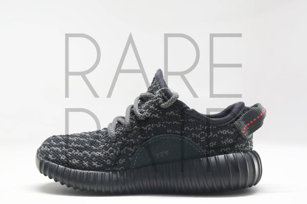 "Yeezy Boost 350 Infant ""Pirate Black"" - Rare Pair"