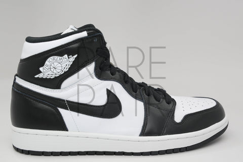 "Air Jordan 1 Retro High OG ""2014 Black/White"" - Rare Pair"