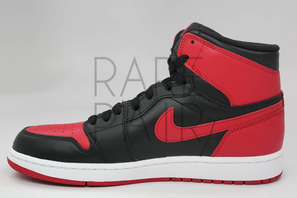 "Air Jordan 1 Retro  ""2013 Black/Varsity Red-White "" - Rare Pair"