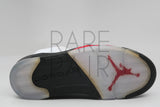 "Air Jordan 5 Retro ""2013 Fire Red: 3M Tongue"" - Rare Pair"