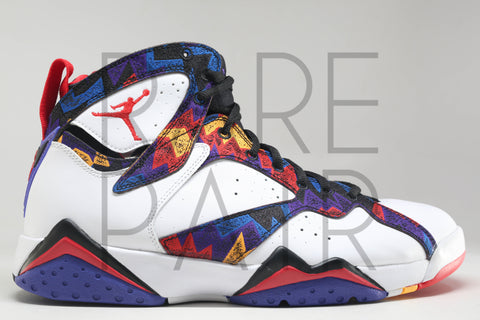 "Air Jordan 7 Retro ""Nothing But Net/Ugly Sweater"" - Rare Pair"