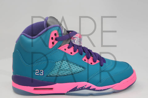 "Girls Air Jordan 5 Retro (GS) ""Tropical Teal"""