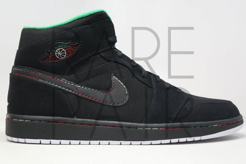 "Air Jordan 1 Retro ""Cinco De Mayo: Black"" - Rare Pair"