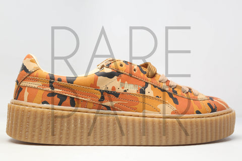 "Suede Creepers Camo Rihanna ""Fenty by Rihanna: Orange Camo"""