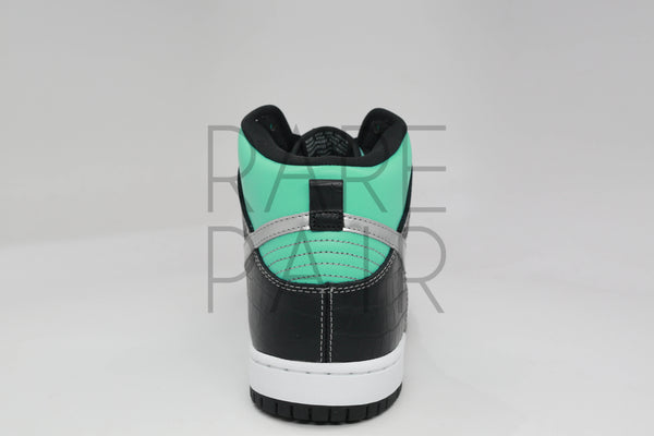 "Nike Dunk High PRM SB ""Tiffany"" - Rare Pair"