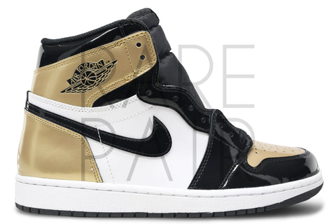 "Air Jordan 1 Retro High OG NRG ""Gold Top 3/ComplexCon"" - Rare Pair"